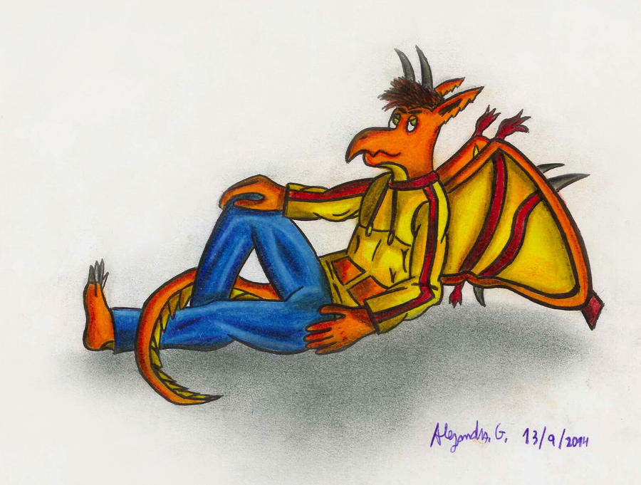 Bacata (the dragon) by tigrisssilvery