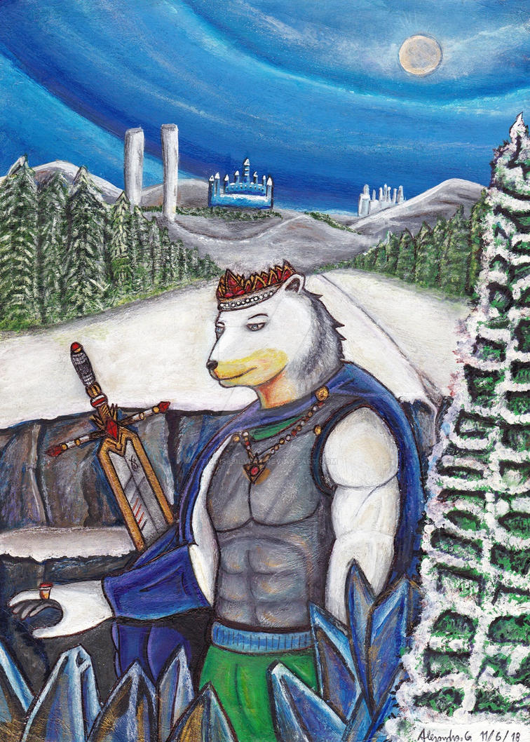 Polux Ice (the king of winter) by tigrisssilvery