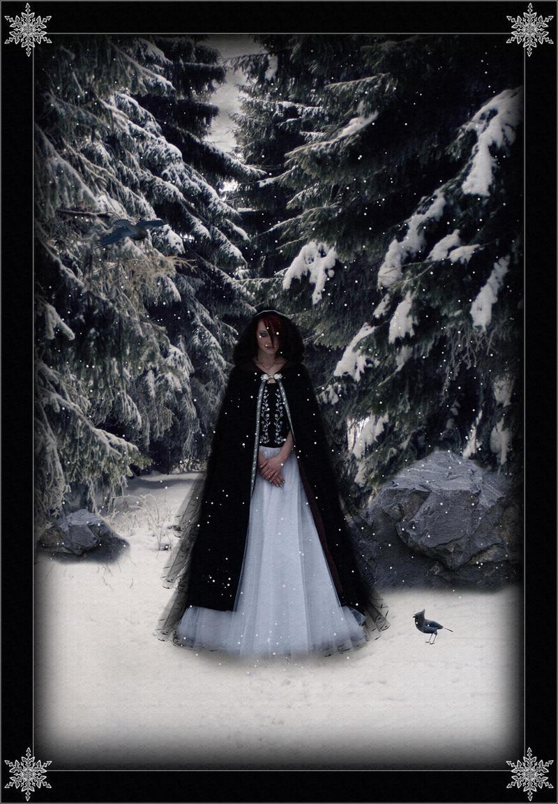 First Snowfall by Nightt-Angell