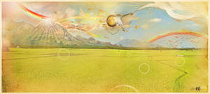 Flying route 66 by Infantmind