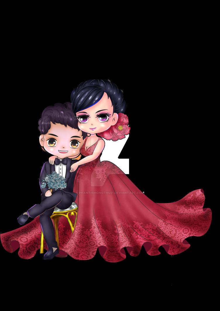 COM - chibi Wedding - Finish by phanthihongthu21