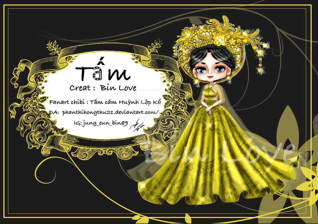 Fanart - chibi - Tam by phanthihongthu21