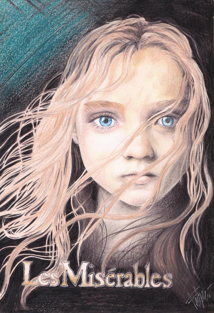 Cosette - Les Miserables by manqeqe