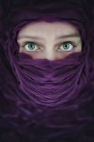 Arabic violet by Elianne92