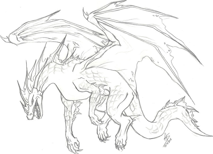 How To Draw A Ice Dragon Step By Images amp Pictures