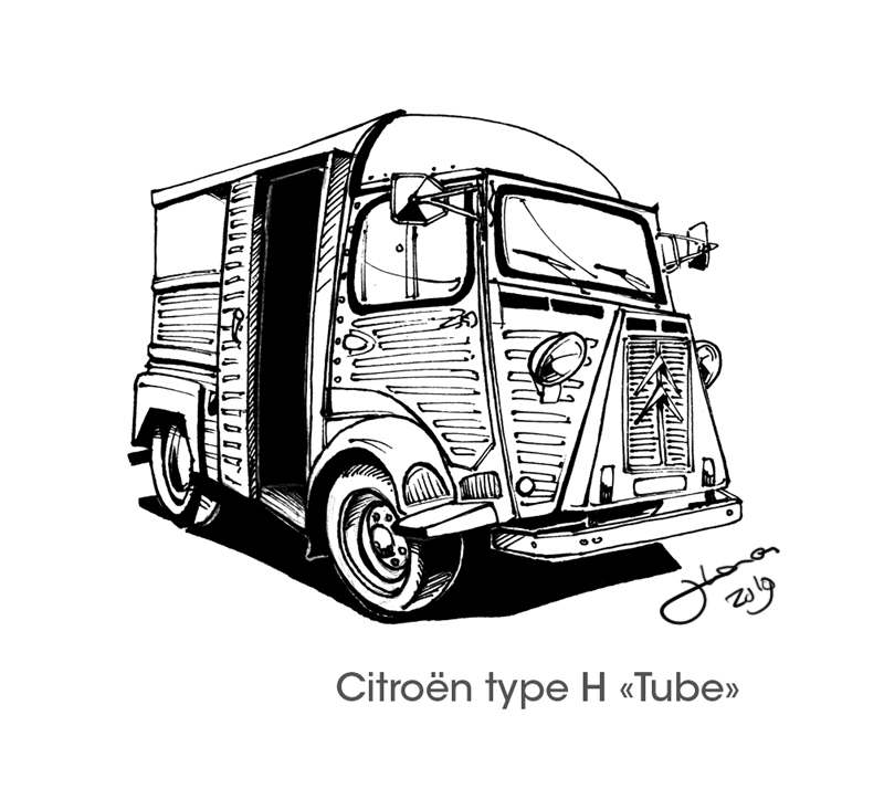citroen type h tube by rodys on deviantart