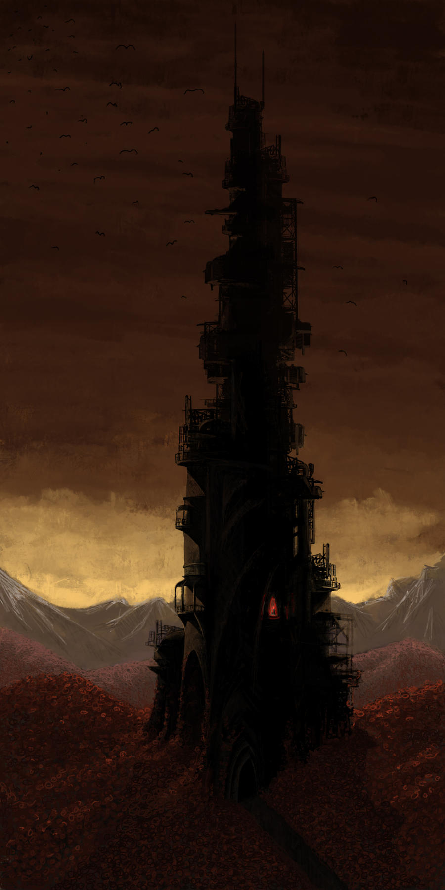 The Dark Tower by Namuab
