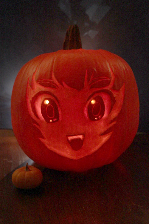 Anime Pumpkin by sererena