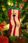 Bacon Christmas Ornament
