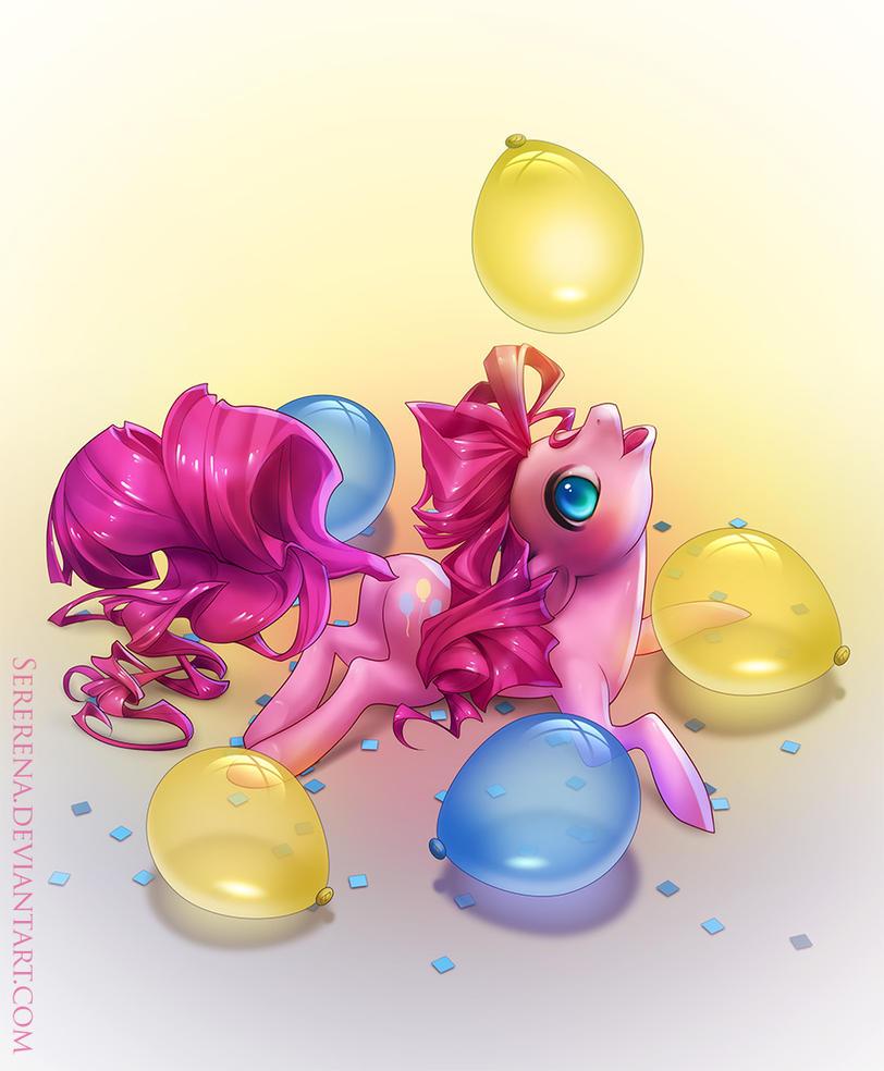 Pinkie Pie by sererena