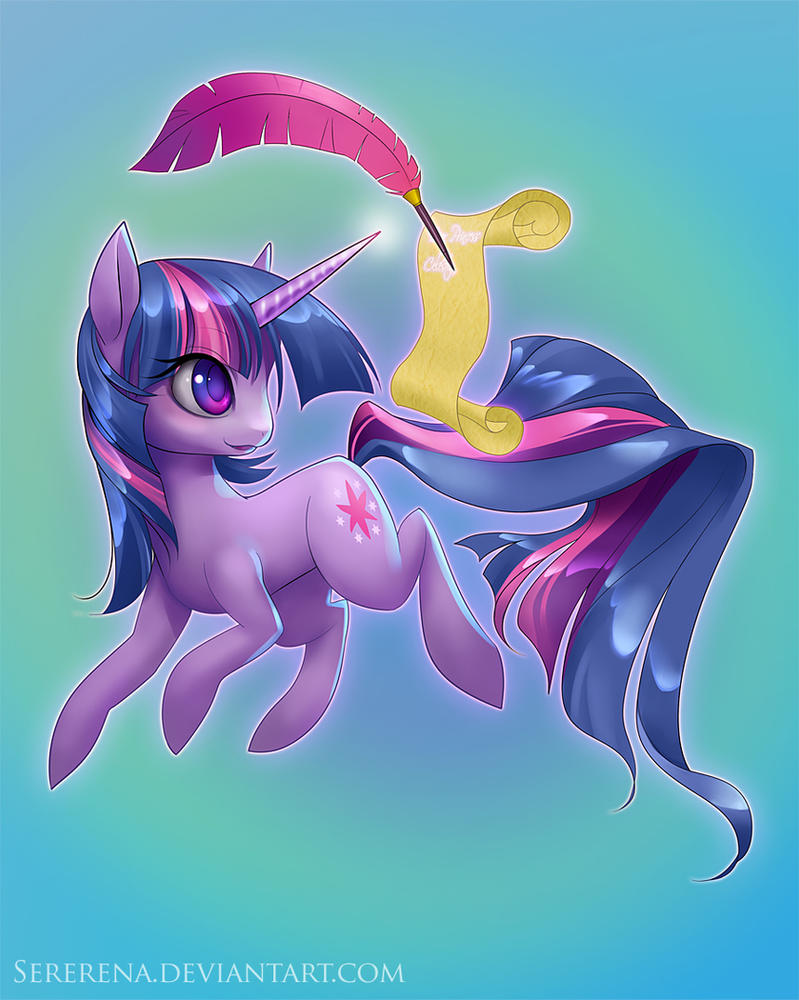 Twilight Sparkle by sererena