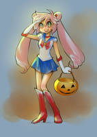 Meanna's Halloween by sererena