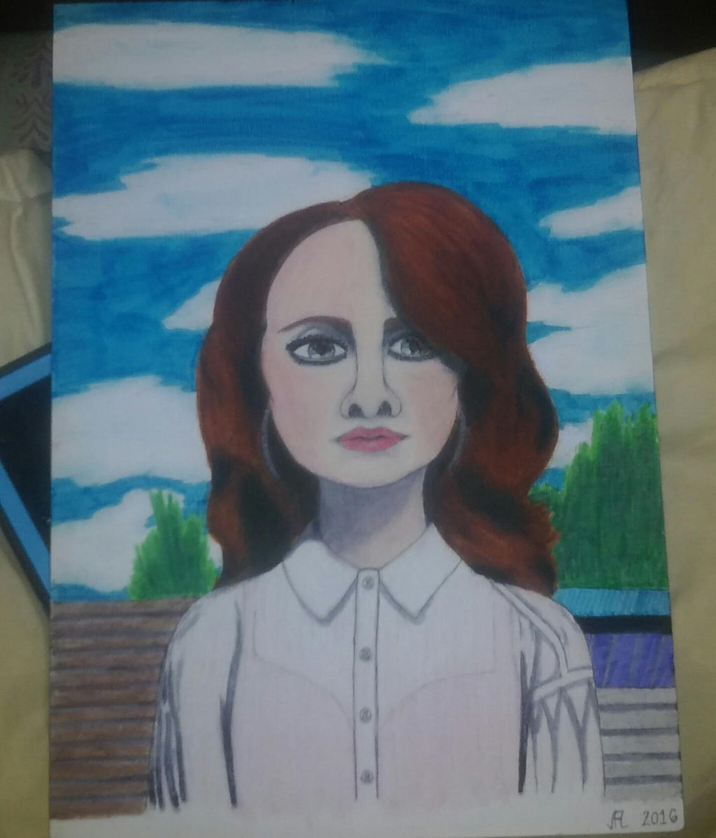 Lana Del Rey Mixed Media by GoddessOfVictory1 on DeviantArt