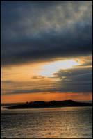 Skyline on Fire by mark1624