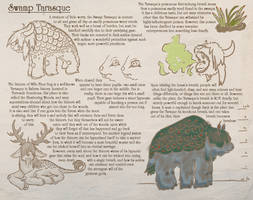 Swamp Tarasque by ArgyleStreet