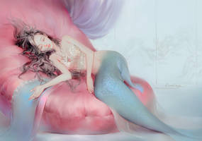 Romantic mermaid by DADACHYO