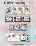 2018/09 September Rewards by DADACHYO
