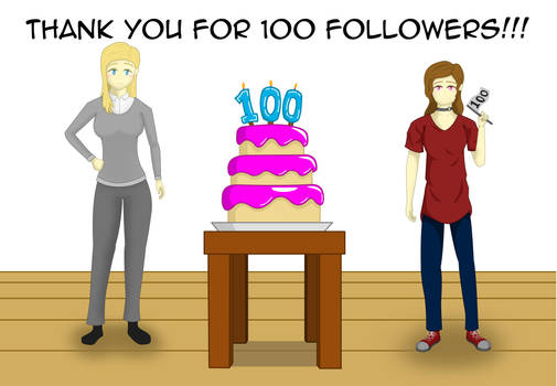 Thank you for 100 followers!!! (pg1)