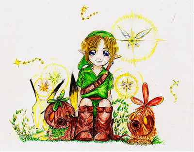 Young Link by Kikifoo