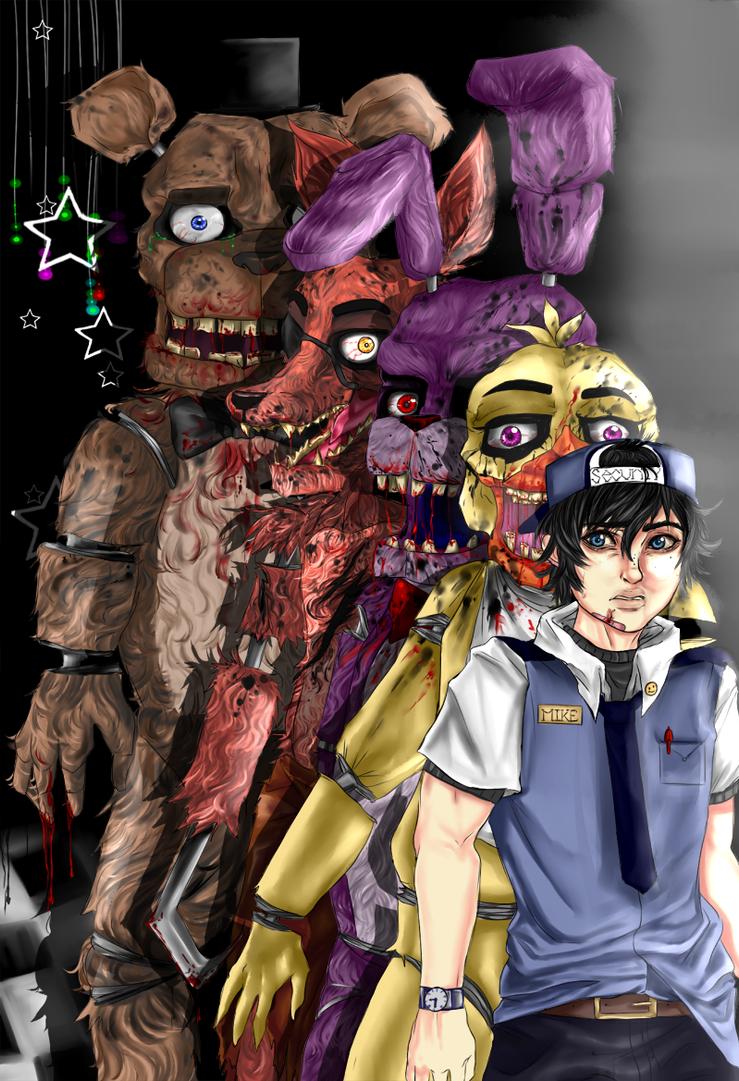 Five Nights At Freddy's by Kikifoo
