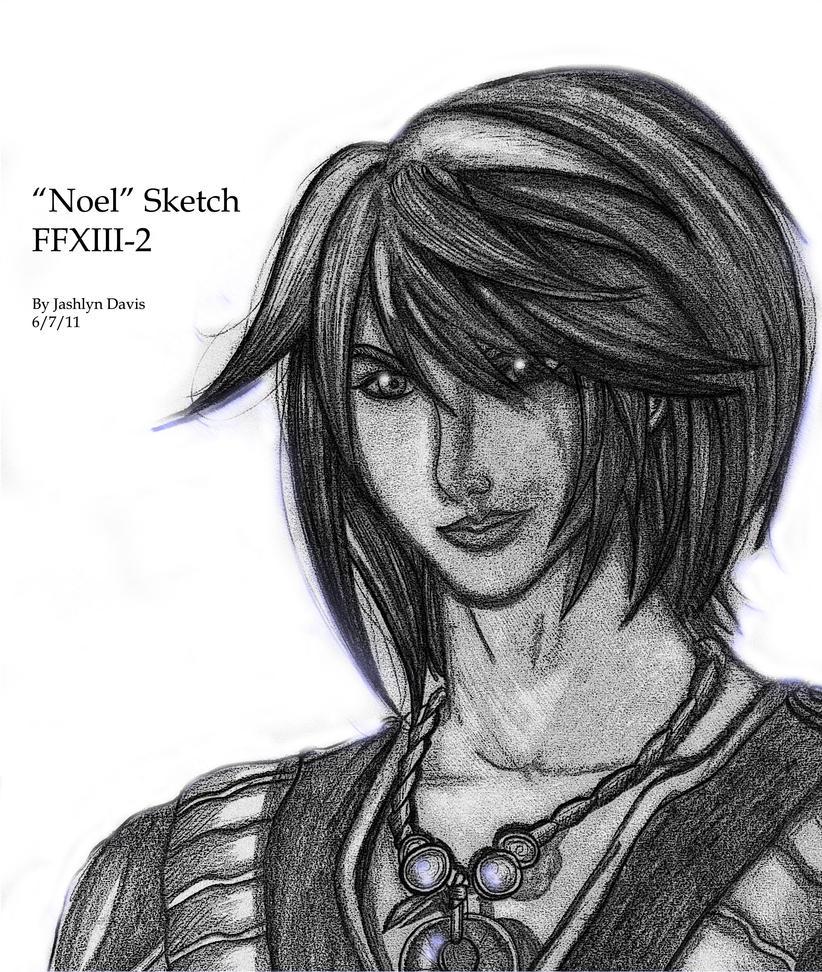 FFXIII2: Noel Kreiss Portrait by JassyCoCo