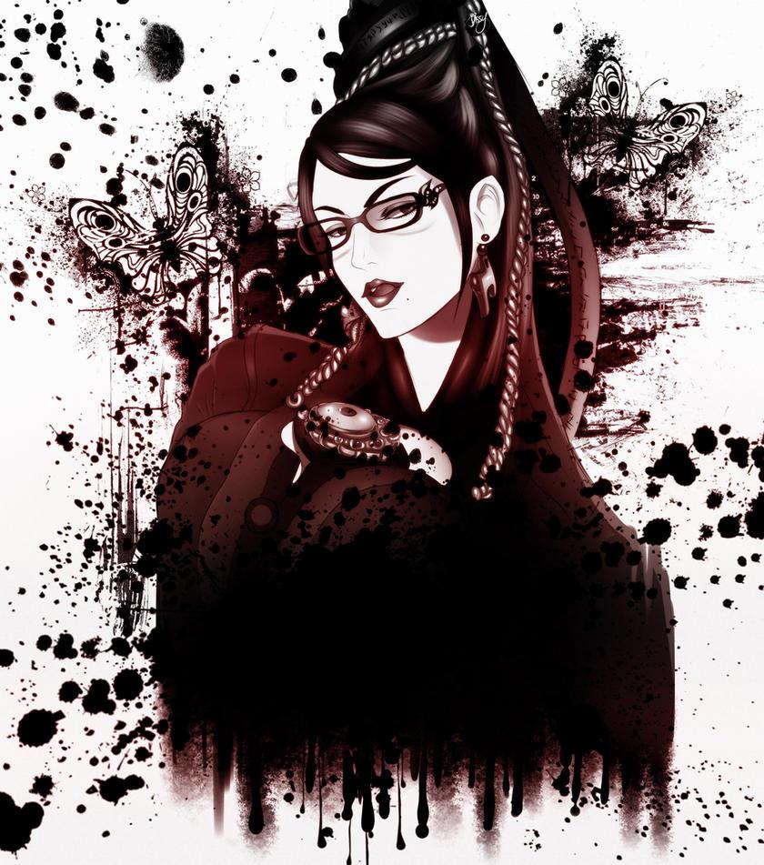 BAEyonetta [INK UPDATE] by JassyCoCo