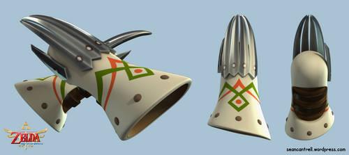 LOZ: Skyward Sword - Mogma Mitts