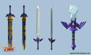 LOZ: Skyward Sword - True Master Sword