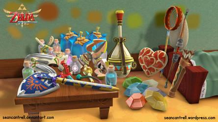 LOZ: Skyward Sword - Link's Room