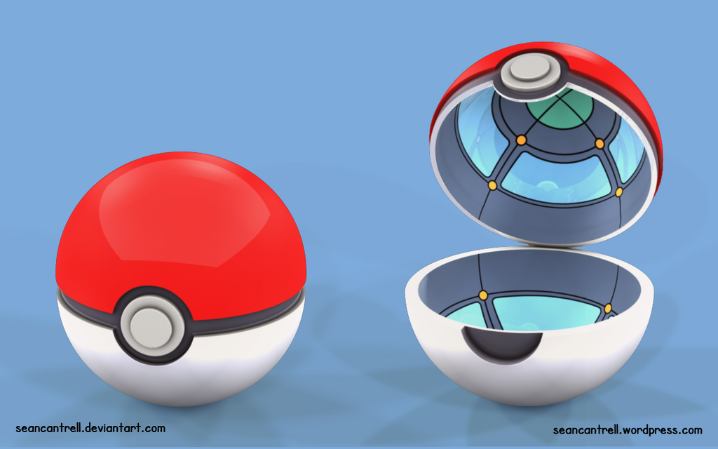 Poke Ball - Real by seancantrell