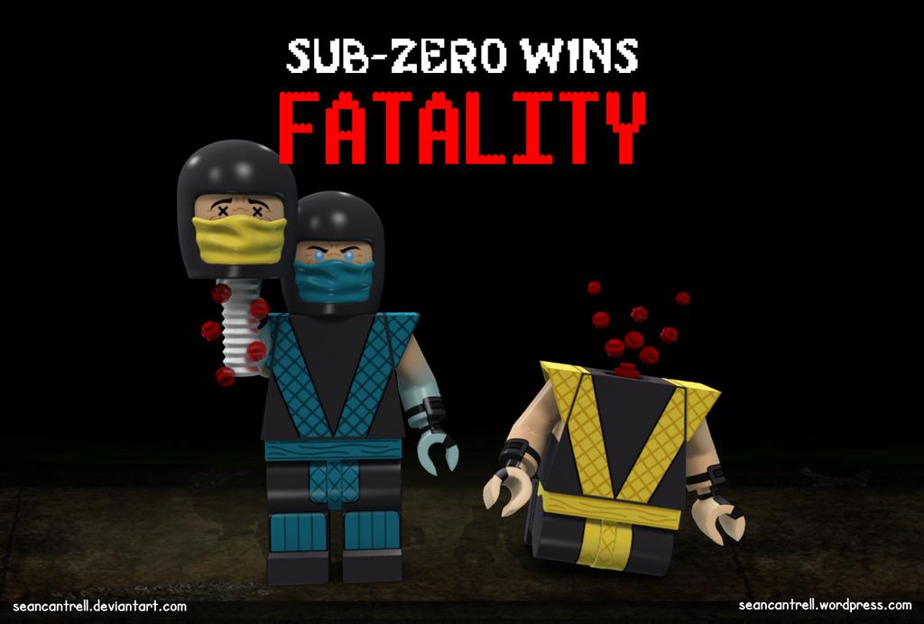 Lego Sub-Zero Fatality by seancantrell on DeviantArt