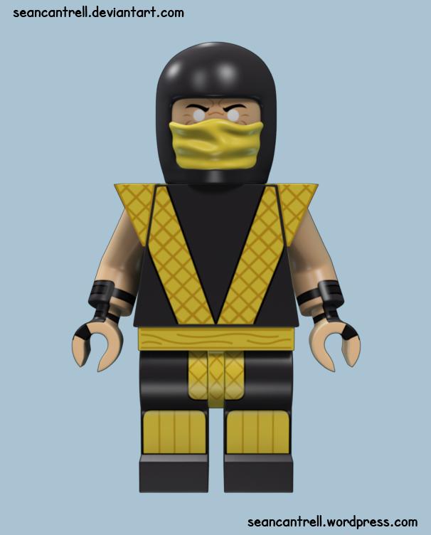 Lego Scorpion - Classic by seancantrell on DeviantArt  Lego Scorpion -...