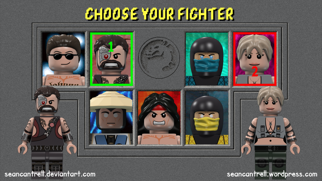 Lego Mortal Kombat 1 Minifigures by seancantrell