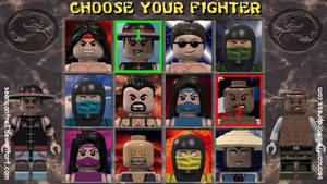 Lego Mortal Kombat 2 Minifigures