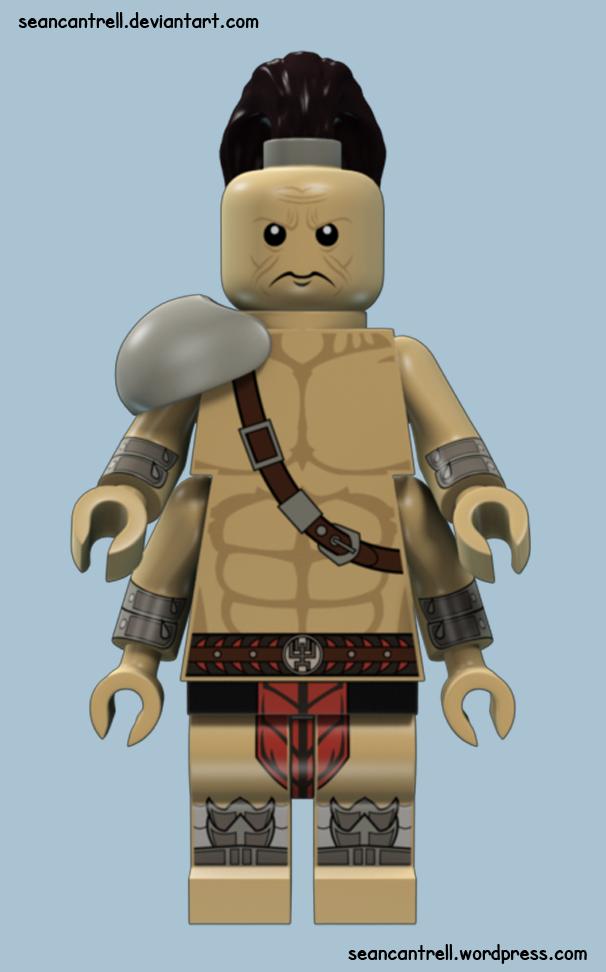 Lego Goro - MK9 by seancantrell on DeviantArt  Lego Goro - MK9...