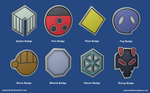 Pokemon Badges - Johto League