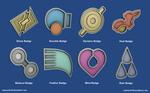 Pokemon Badges - Hoenn League