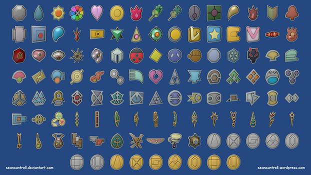 All Pokemon Badges