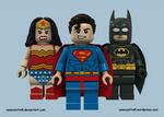 Lego DC Trinity - Classic