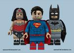 Lego DC Trinity - New 52