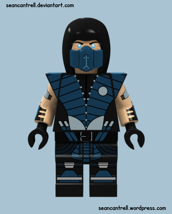 Lego Subzero - Mortal Kombat X by seancantrell on DeviantArt
