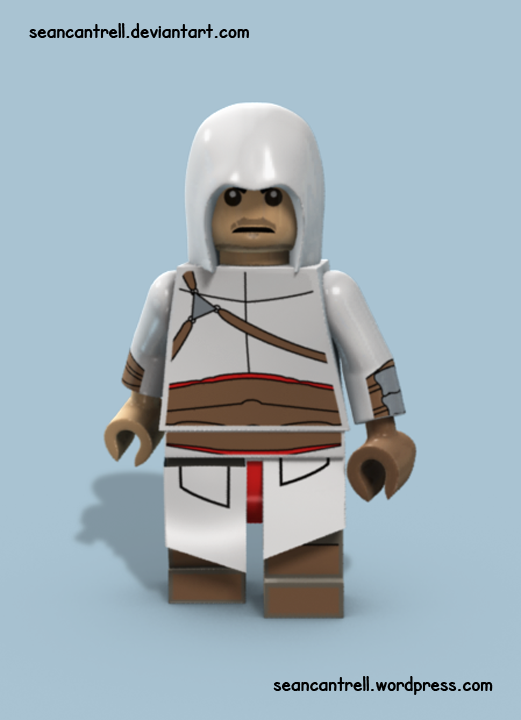 Lego Altair Assassin S Creed By Seancantrell On Deviantart