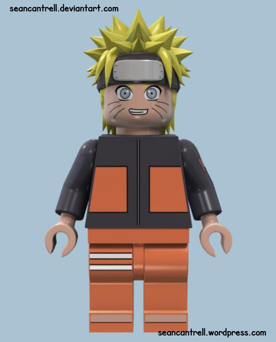 NARUTO shippuden Minifigure Lego custom uzumaki Sasuke Kakashi Jiraiya Itachi