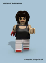Lego Faith Connor - Mirrors Edge by seancantrell