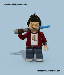 Lego Travis Touchdown - No More Heroes by seancantrell