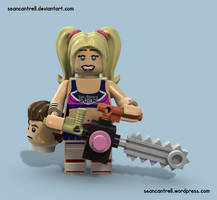 Lego Juliet Starling - Lollipop Chainsaw