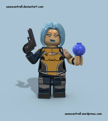 Lego Maya - Borderlands by seancantrell