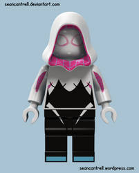 Lego Spider-Gwen by seancantrell