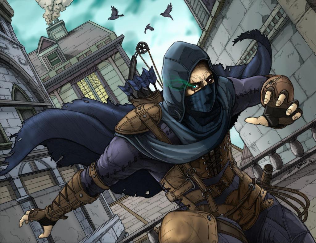 Garrett  master thief by daniel jeffries d78yw4o