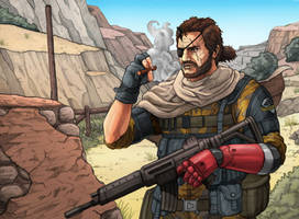 Metal Gear Solid V: The Phantom Pain by Daniel-Jeffries